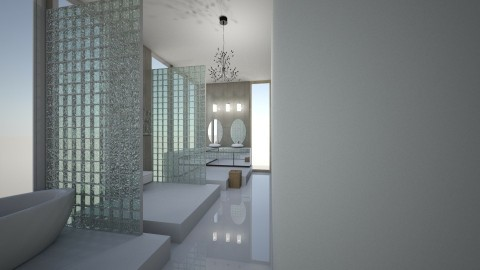 L - Modern - Bathroom - by veki