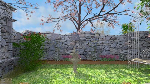 Secret garden - Garden  - by milyca8