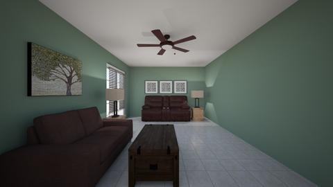 Living - Living room  - by chrometoaster