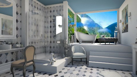 yoo bathroom - Modern - Bathroom  - by miadesign