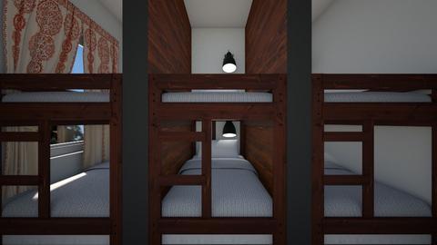 Dorm Room For Six 2 - Bedroom  - by SammyJPili
