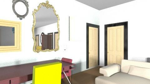 Troy Brownstone - Vintage - Living room  - by CaitlinRose