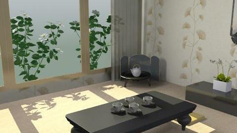 Casa de Té - Minimal - Living room  - by sacerdote