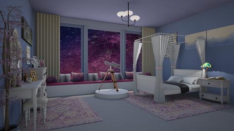 Starry Night - Bedroom  - by KarJef