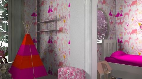 girls room - Kids room - by mariannee1