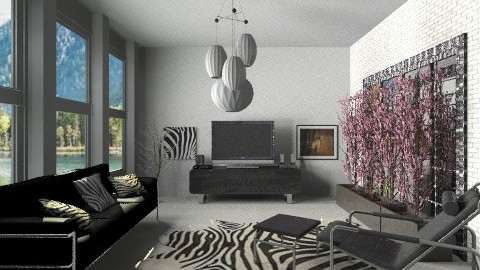 BLR - Minimal - Living room  - by milyca8