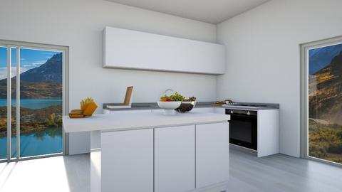 Oxeannnn - Kitchen  - by kallevicky