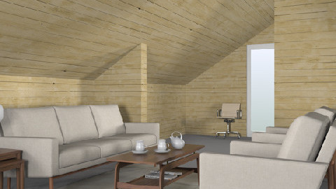 DWR- final Print - Minimal - Living room  - by TV Renders
