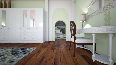 Just a Peek 1 - Classic - Bedroom - by decordiva1