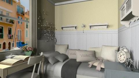 Marsiglia - Vintage - Bedroom  - by Eloisa_Jimmy Dean