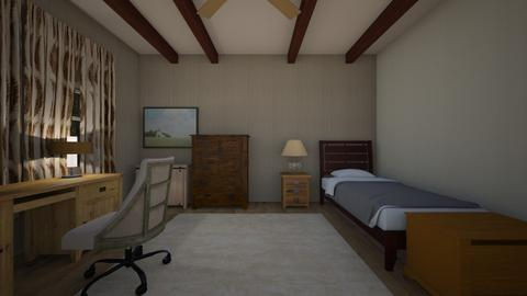 Light Rustic - Bedroom  - by mspence03