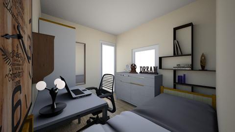 Kamar Faiza - Bedroom  - by Deva Rendrayani