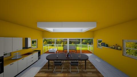Kitchen - Modern - Dining room - by AlinaZ