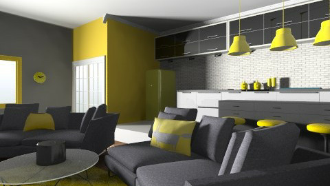 Apartment - Living room - by JuRenec