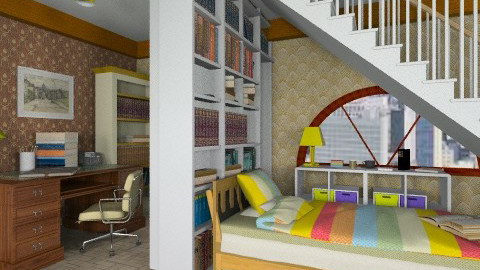 Basement - Office  - by Gidion