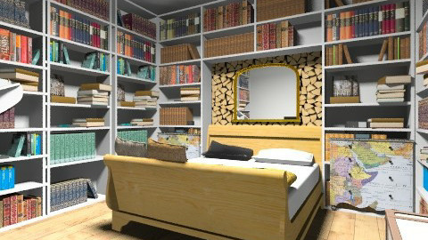 Books - Country - Bedroom  - by sophiesweetie8