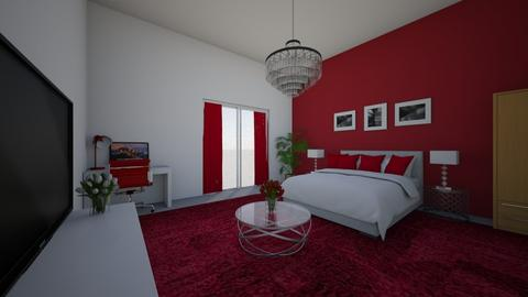Red Bedroom 33 - by Planner33