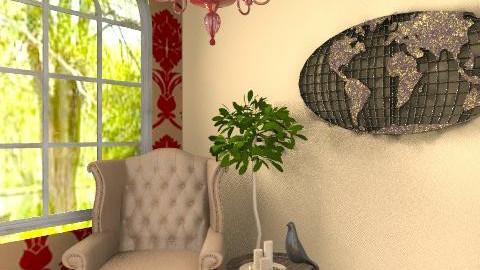 Quiet Reading Corner - Classic - Living room - by tatertot0514