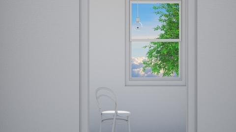 PLEASE STAY INSIDE - Minimal - Living room - by HenkRetro1960