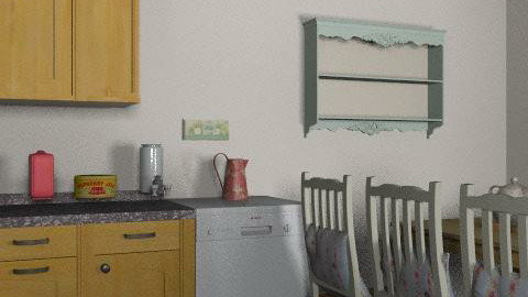 my minie cortage - Country - Kitchen  - by tiggywiggy