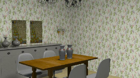 My Room 99 - Dining Room  - by albertperezmuoz