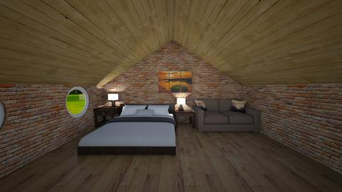 loft bedroom - Bedroom  - by rhod365