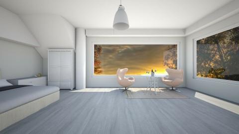 Comfortableroom - Glamour - Living room  - by linnda123222