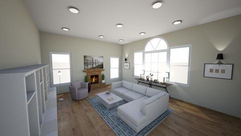 freeman family - Living room  - by interiorsbyklm