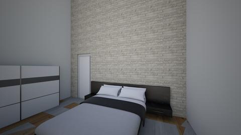 nova soba - Bedroom  - by matickrizancic