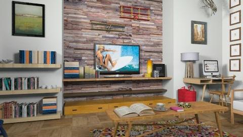 Boho Vintage - Vintage - Living room  - by camilla_saurus