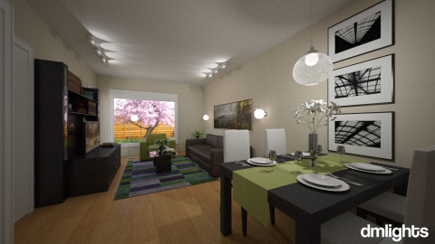 Apartment - Eclectic - Living room  - by Theadora2