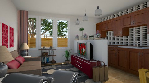 For rial90 1 - Eclectic - Living room - by Theadora