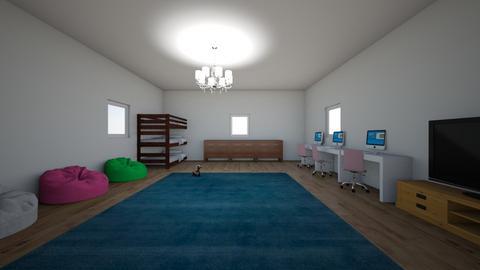 triplet bedroom - Kids room - by cat59
