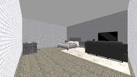 khaled new room - Modern - Bedroom  - by Khaled Waleed Abdalla