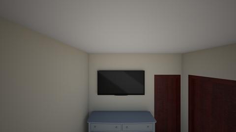 room design 1 - Modern - Bedroom  - by tonyjarenas