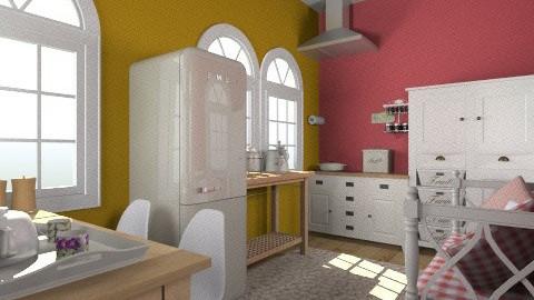 cotage kitchen - Country - Kitchen  - by dim
