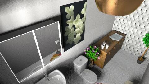 ESCRITORIO banheiro 0101 - by lo bolotti