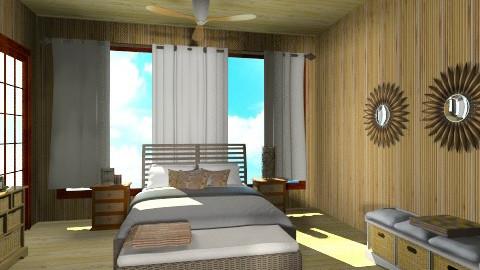 pacific bedroom - Rustic - Living room  - by ANAAPRIL