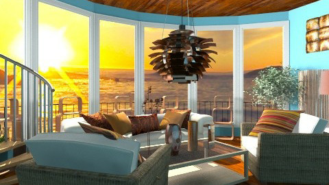 Sunset - Modern - Living room - by Puppy Chow