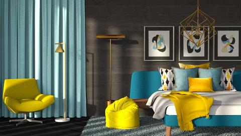 simpl - Modern - Bedroom  - by RimaNina