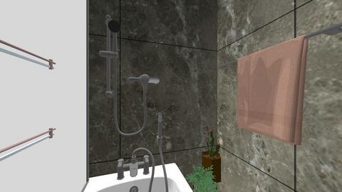 Tiny Bathroom - Glamour - Bathroom  - by Ashlyn Julia