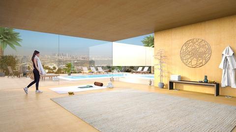 Hollywood Hills Yoga Studio - Office  - by RHD