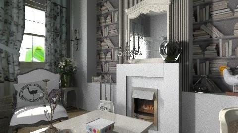 gite2 - Country - Living room - by calu13