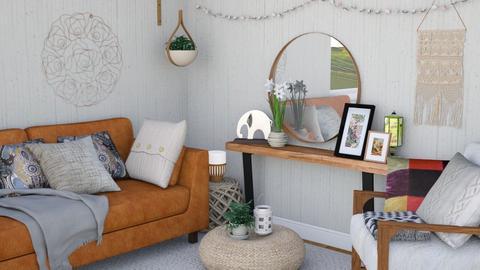 Keep calm and be boho - Modern - Living room  - by Nina Colin