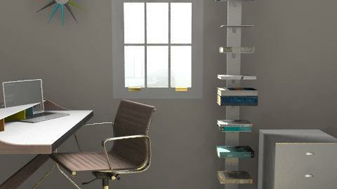 McKinlay_Office10 - Eclectic - Office  - by Rachel Barry
