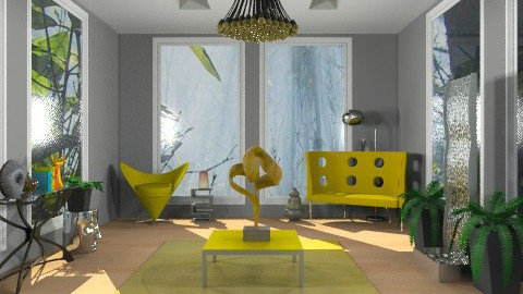Modern Eclectic - Eclectic - Living room - by deepthinker