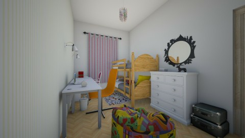 Monia room - Classic - Kids room  - by wioladm