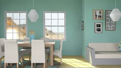 Beachy Room - Country - by HSSmith