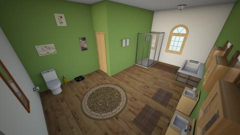 Modern Bathroom - Bathroom - by RaeBayK33