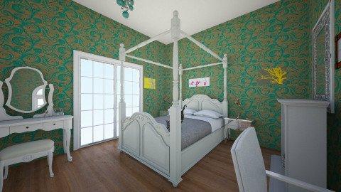 Bedroom 1 - Retro - Bedroom  - by ra101